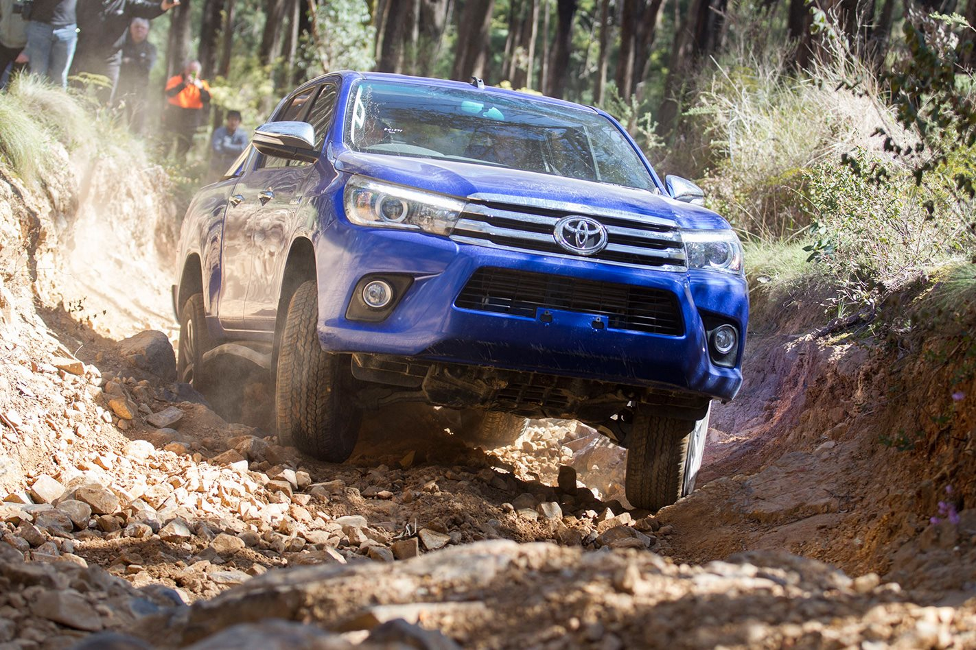 2016 Toyota Hilux off-road review