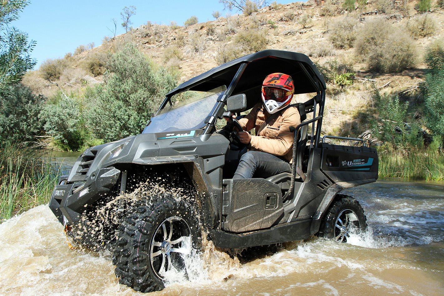 Product test | CFMoto X550 ATV and U550 UTV