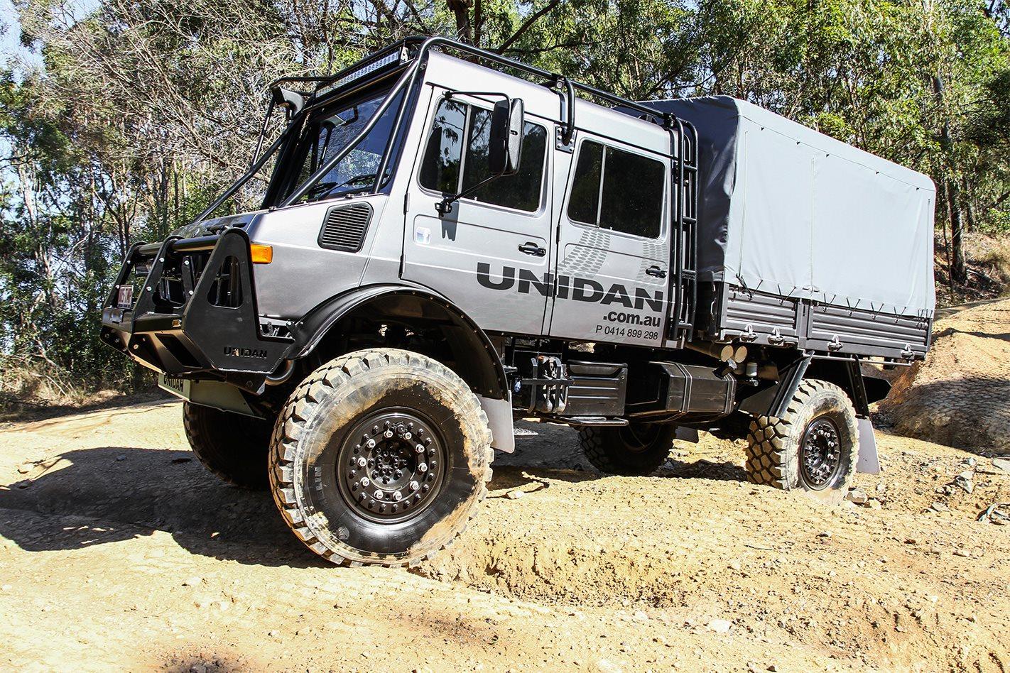 Custom 4x4 Unidan Unimog