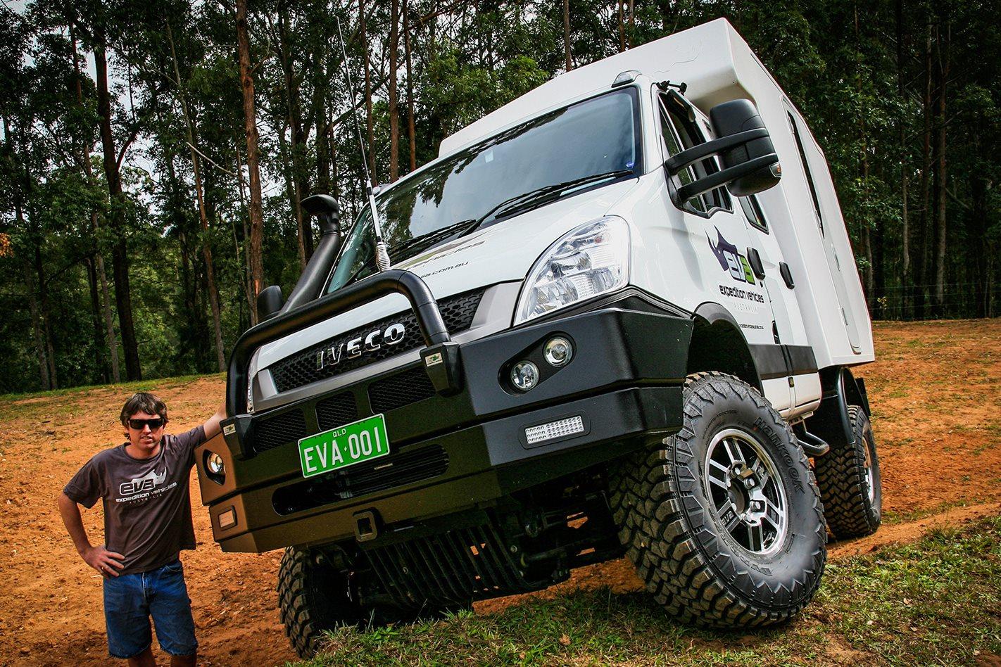 Sprinter Camper 4x4 >> Custom 4x4 | EVA Iveco Daily