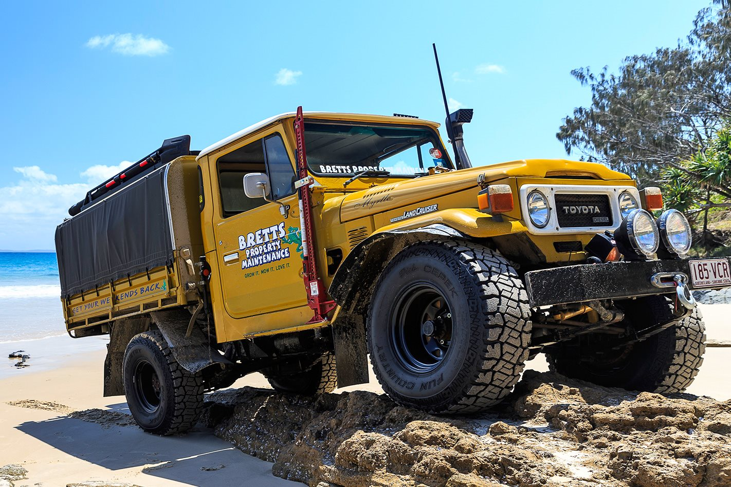 Custom 4x4 Toyota 40 Series Land Cruiser 4x4 Australia