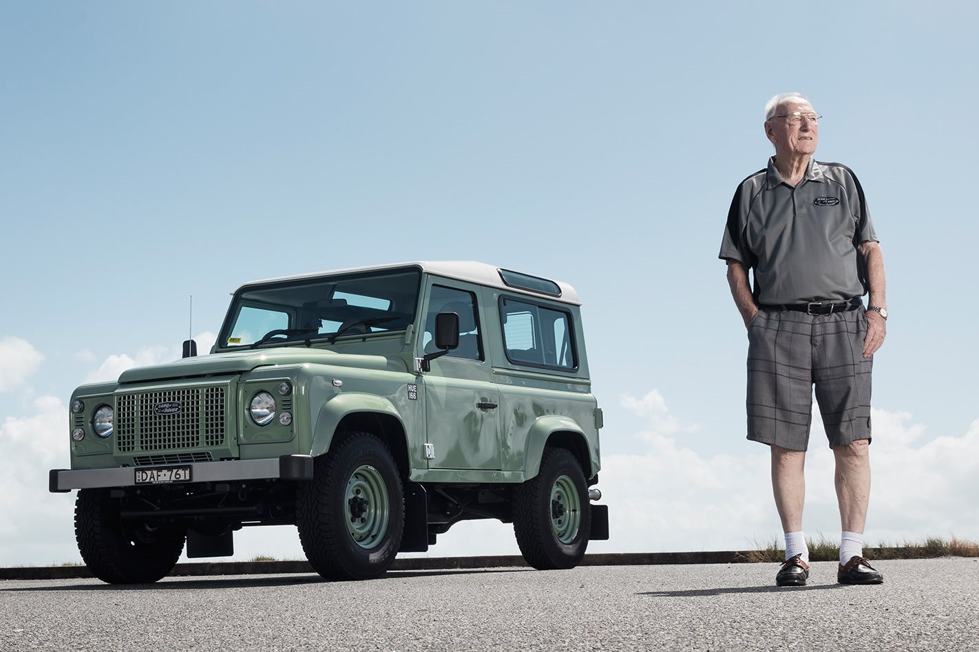 Arthur Goddard Godfather Of The Land Rover Coupling