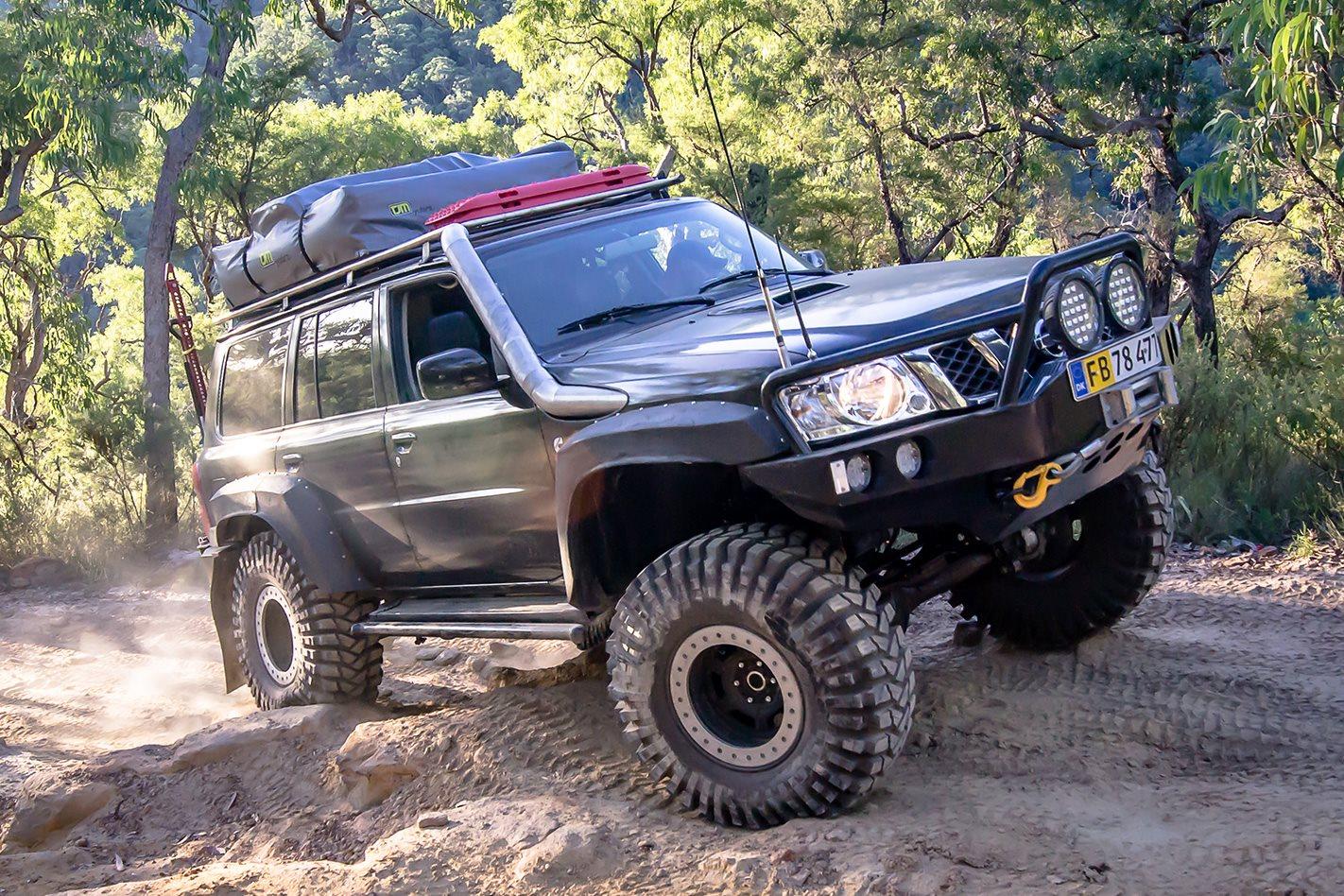 Motor 5 4 Ford Triton >> Custom 4x4: Nissan Patrol GU
