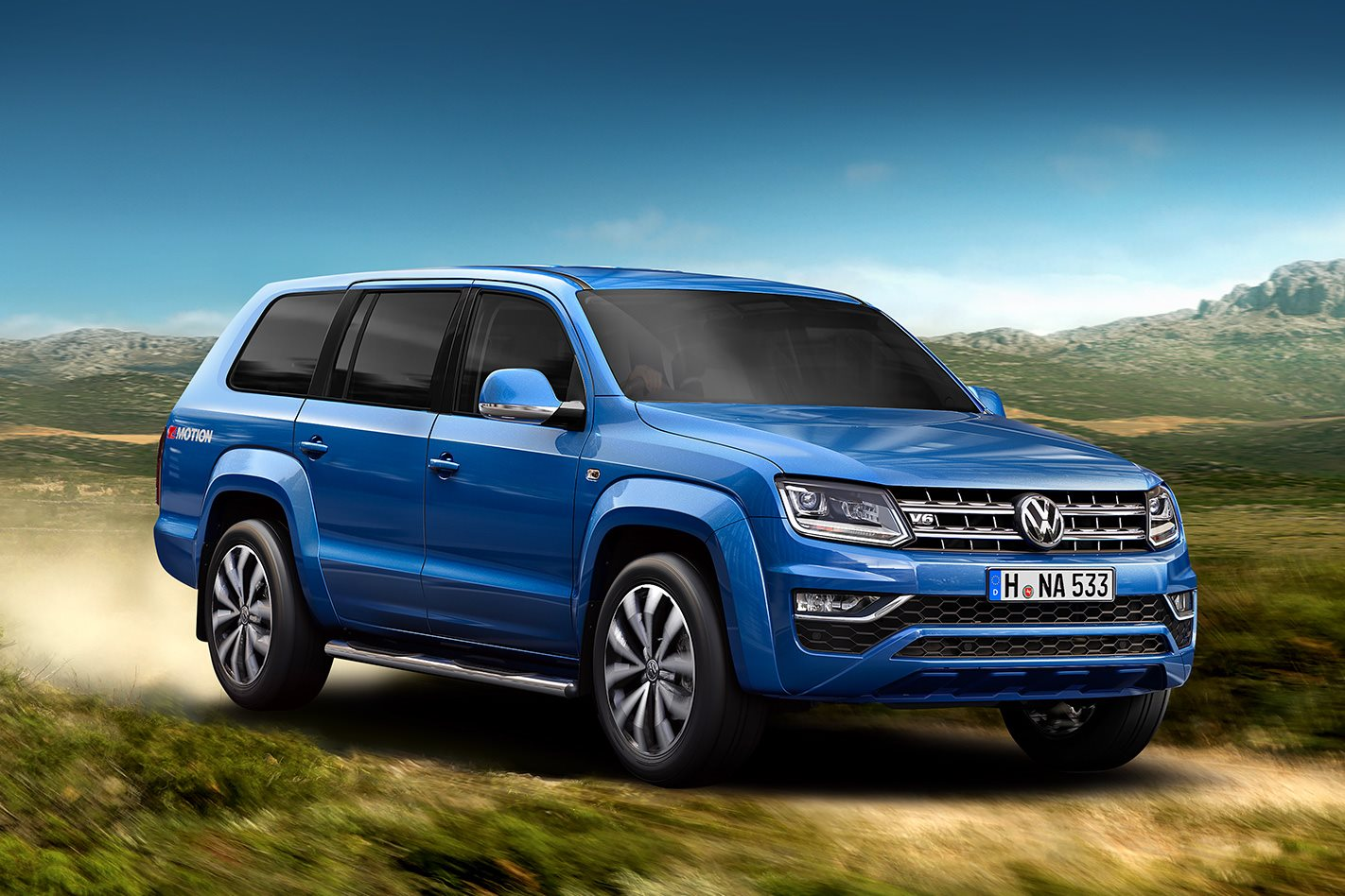 volkswagen confirms amarok wagon 4x4 australia. Black Bedroom Furniture Sets. Home Design Ideas