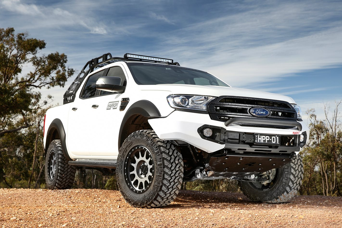 harrop engineering modifies ford ranger. Black Bedroom Furniture Sets. Home Design Ideas
