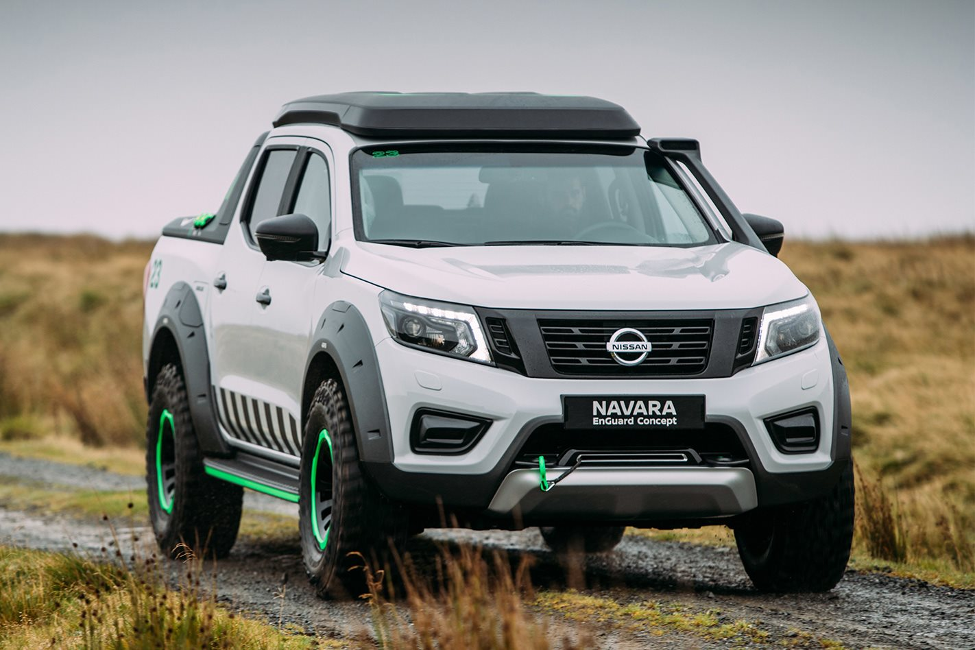 nissan debuts navara enguard concept 4x4 australia. Black Bedroom Furniture Sets. Home Design Ideas
