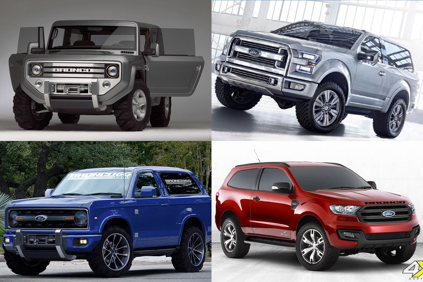 2016 Ford Bronco >> Ford Bronco Concepts