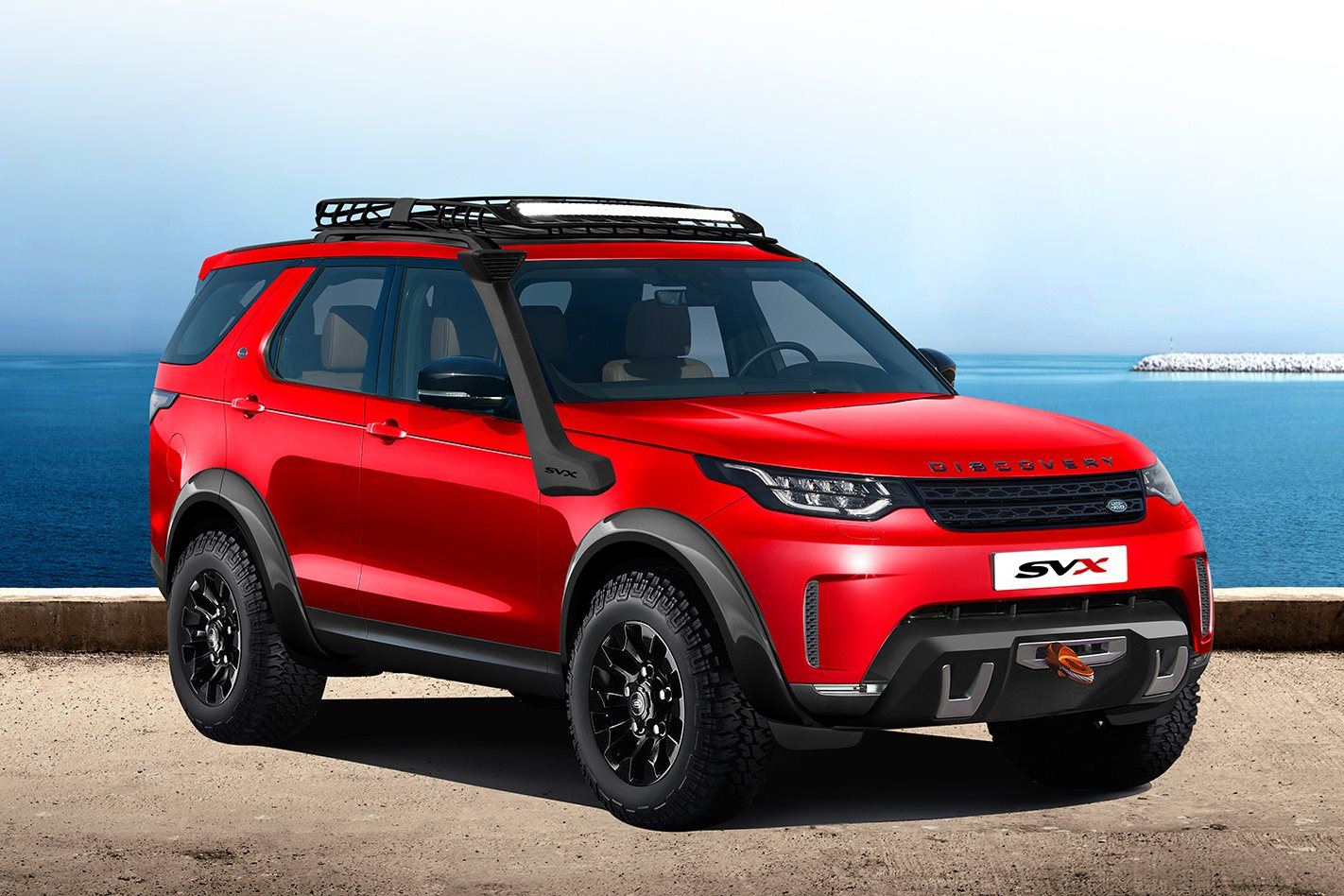 New Land Rover Discovery To Get Some Off Road Cred