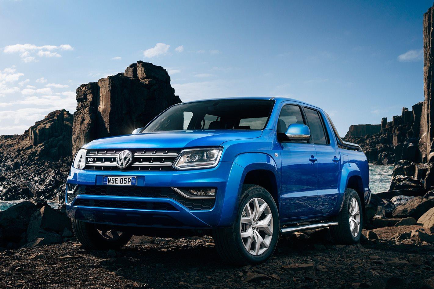 2017 Volkswagen Amarok V6 First Drive