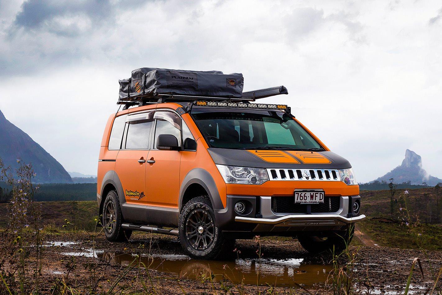 Ranger Ford 2018 >> Mitsubishi Delica Bushmaster