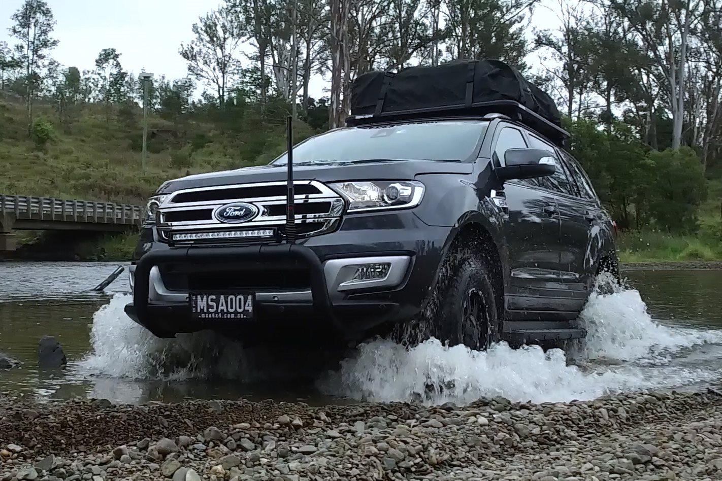 Custom Msa 4x4 Ford Everest Video Review 4x4 Australia