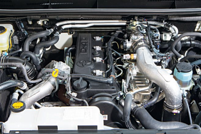 Toyota Prado engine