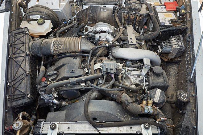 Merc G300 engine