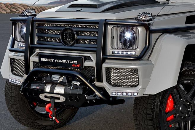 2017 Brabus 550 Adventure 4x4 front