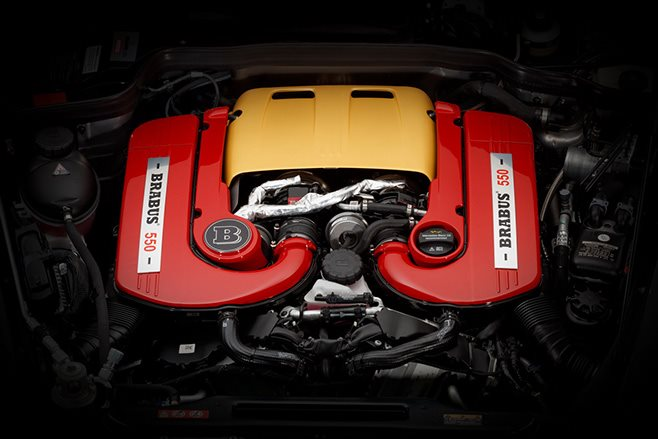 2017 Brabus 550 Adventure 4x4 engine