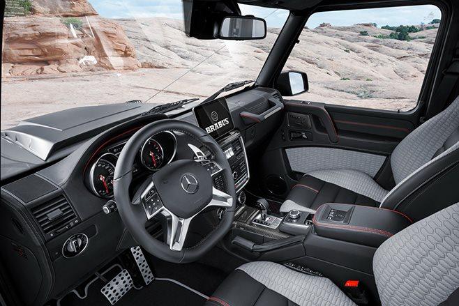 2017 Brabus 550 Adventure 4x4 engine interior
