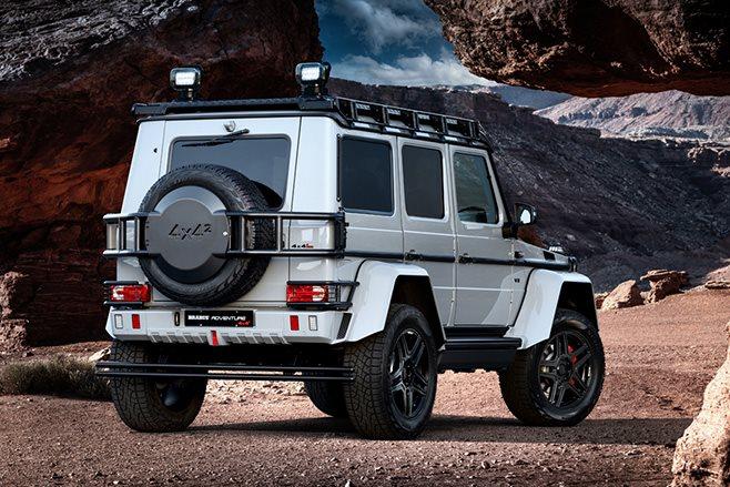 2017 Brabus 550 Adventure 4x4 rear