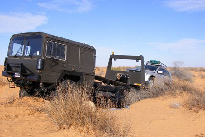 towing 4x4s