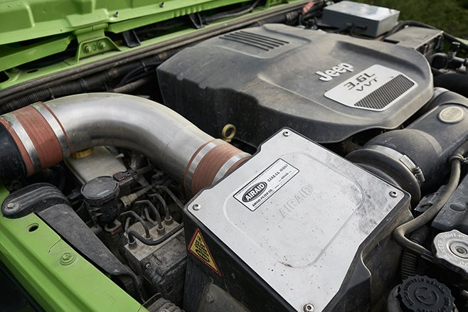 Jeep JKU Wrangler Rubicon engine