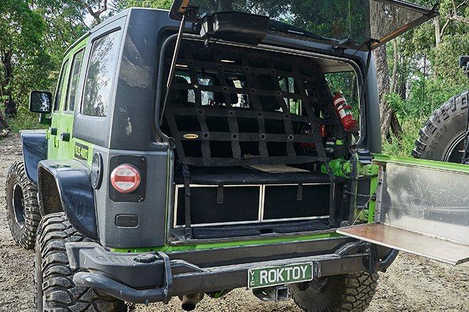 Custom Jeep JKU Wrangler Rubicon rear doors