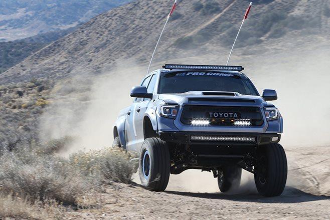 Toyota Tundra custom front