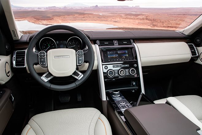 2017 Land Rover Discovery interior