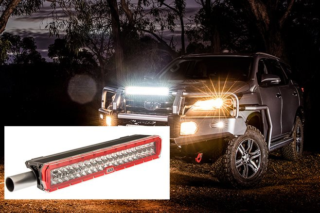 AR40 LED light bar