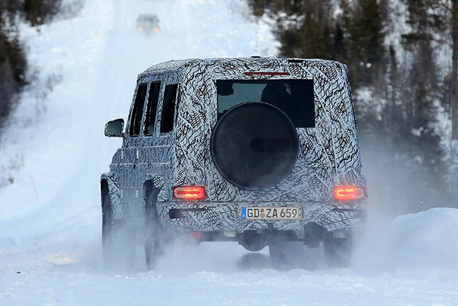 2018 Mercedes-Benz G-Wagen rear