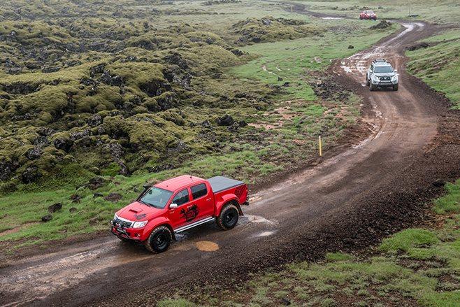 Iceland dirt roads