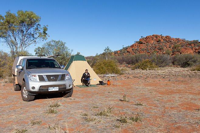 self reliant camping