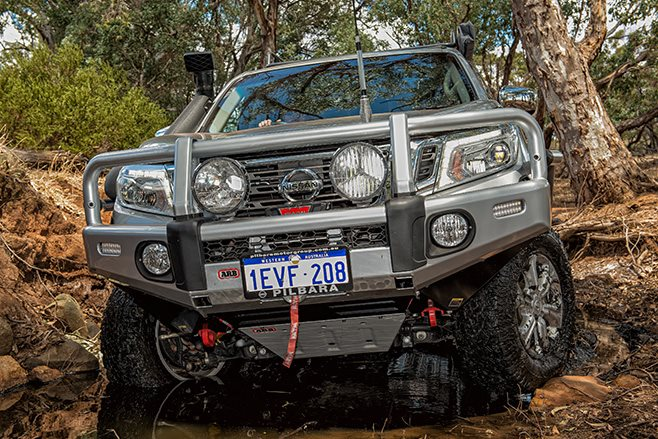 ARB equipped NP00 front