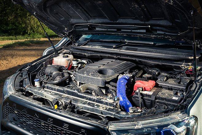 Custom Ford Ranger PXII engine