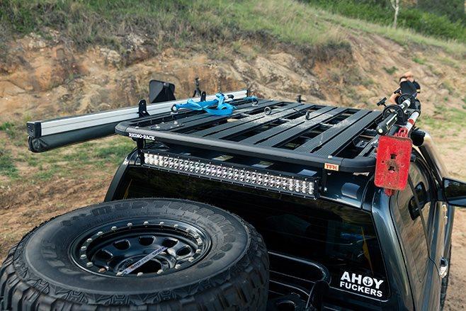 Custom Ford Ranger PXII roof rack