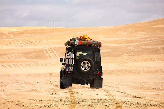 Desert dirving