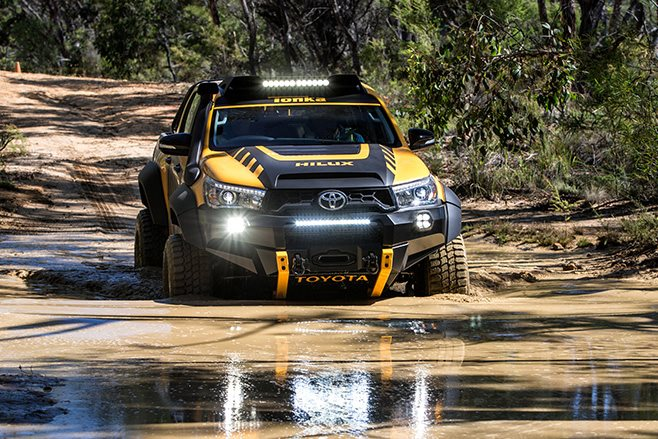 2017 Toyota Hilux Tonka Concept water driving