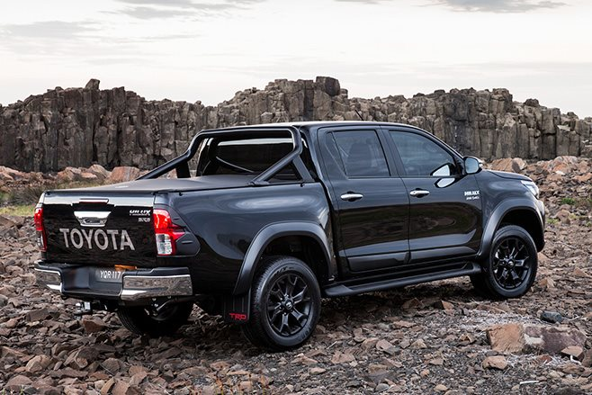 Toyota TRD Hilux rear black