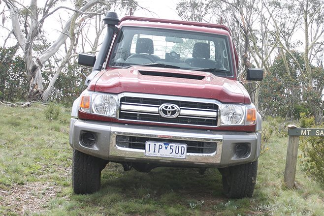 2016 Toyota LandCruiser 79 Single Cab front