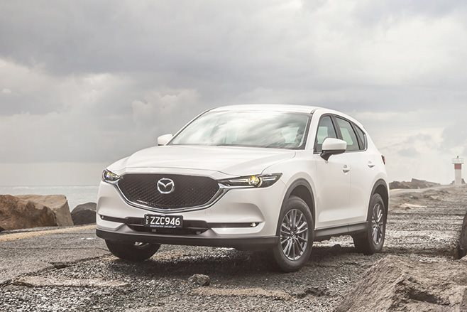 2017 Mazda CX 5 front