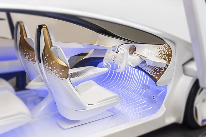 Toyota Concept-i interior