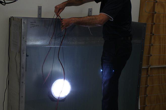 submersion tank