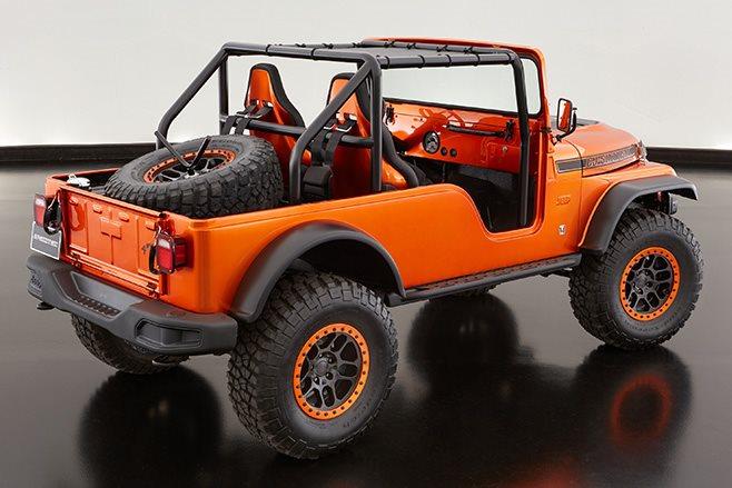 Jeep CJ66 rear