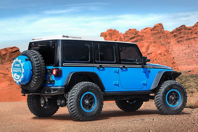 Jeep Luminator rear