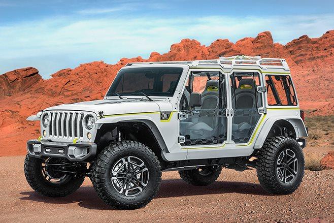 Jeep Safari front