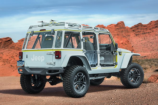 Jeep Safari rear