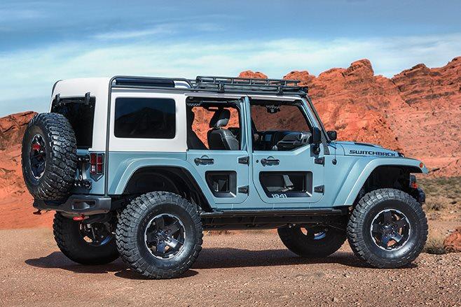 Jeep Switchback rear