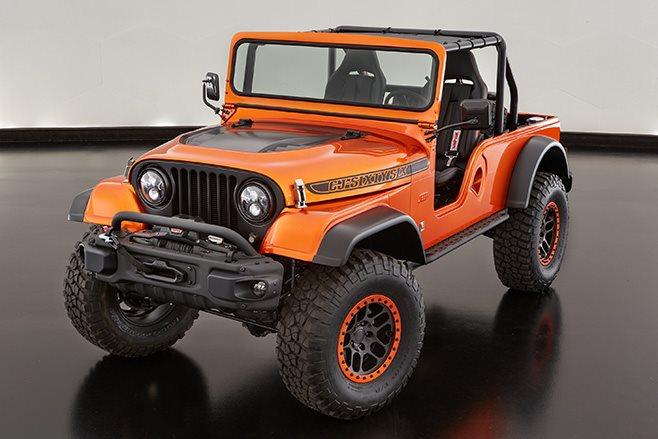 Jeep Cj66 front
