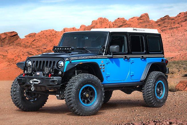 Jeep Luminator front