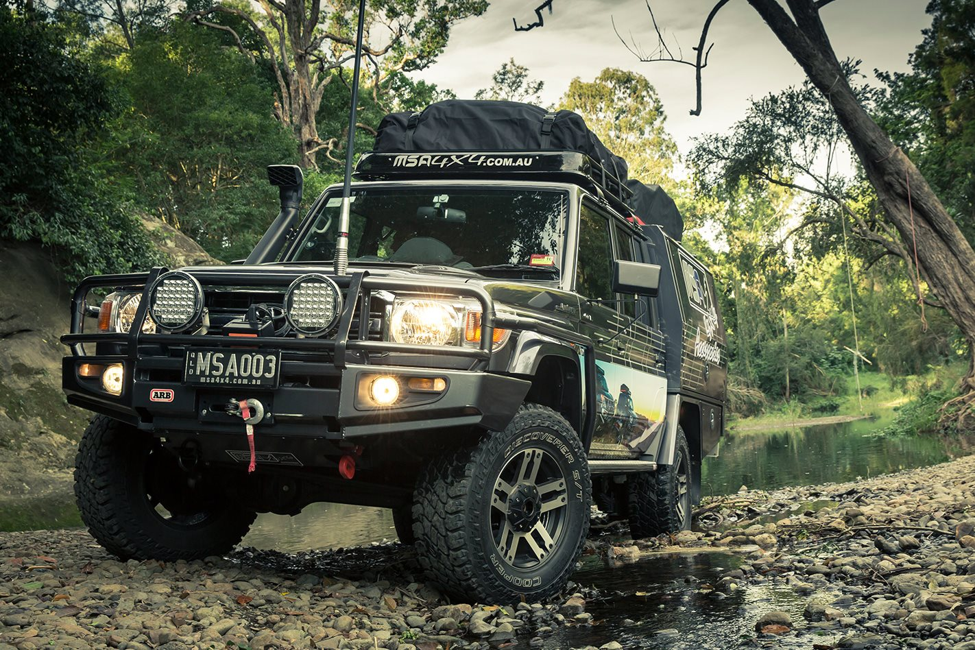 Test Toyota Land Cruiser 2017 >> MSA Toyota Land Cruiser 79 Series review
