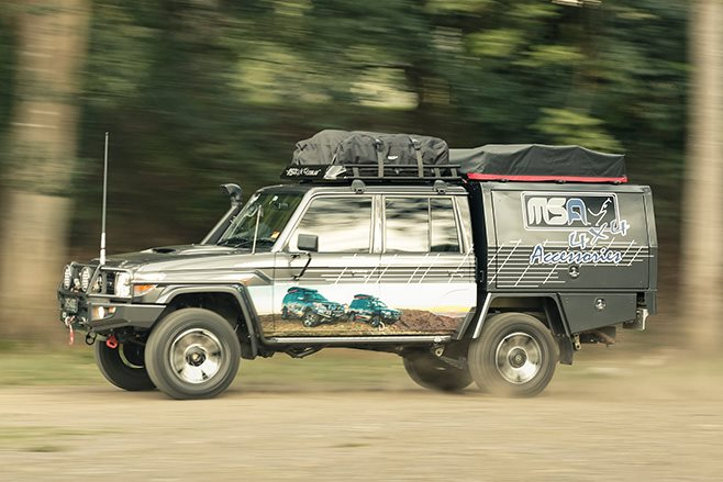 MSA Toyota Land Cruiser 79 Series side