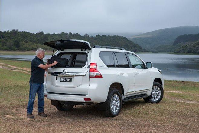 Toyota Land Cruiser Prado Altitude special edition glass hatch